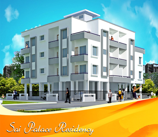 Sai Palace Residency - 1 & 2 BHK apartments at Adgaon Nashik
