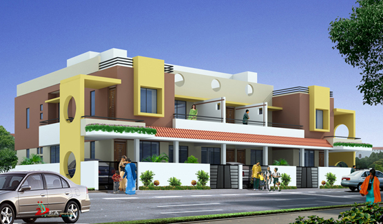 Vijay Sneh - Residential project comprising of 2, 3 BHK apartments at Aurangabad Road, Nashik