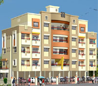 Akash Pride, a residential project by Deep Constructions, Tidke Colony, Nashik