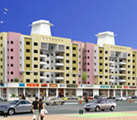 Dream Castle, a residential project for apartmentsrow house,  by Samraat Group of Companies, Gangapur Road