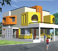 Krishna Kundal, a residential project by Precious Builders, Nashik Pune Road, Nasik