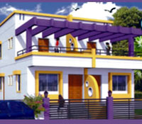 Narhari Nagar, a residential property for bungalows by Soft Corner, Ambad