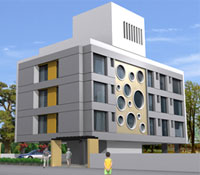 Nirman Inspire, a commercial property for corporate office spaces by Nirman Group, CBS, Nashik