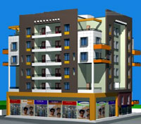 Prabhu Capital - project by Pacific Builders at Nashik Pune Road in Nashik