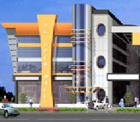 S.K. Mall, a commercial project for mall by Suyojit Infrastructure Ltd, College Road