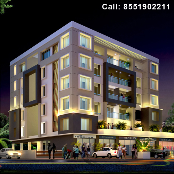 Imperia, a residential property for 2, 3 BHK apartments by Rachana Group at Indira Nagar, Nashik