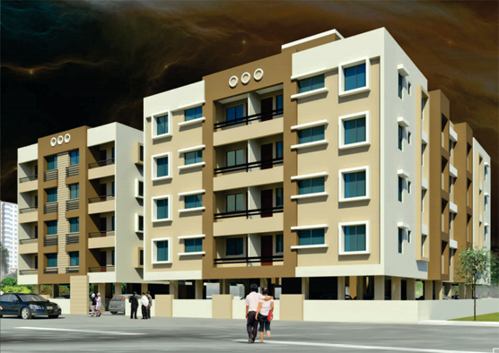 Sai Galaxy - 1, 2 & 3 BHK apartments at Indira Nagar, Nashik