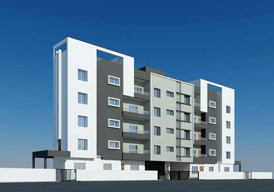 Samrudhi Palace - Residential project comprising of 1, 2 BHK apartments Jay Developers at Makhmalabad Road, Nashik