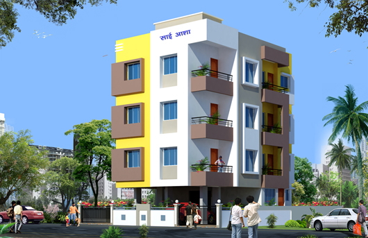 Sai Asha -   Residential project comprising of 2 BHK apartments by Aadesh Constructions at Panchvati, Nashik