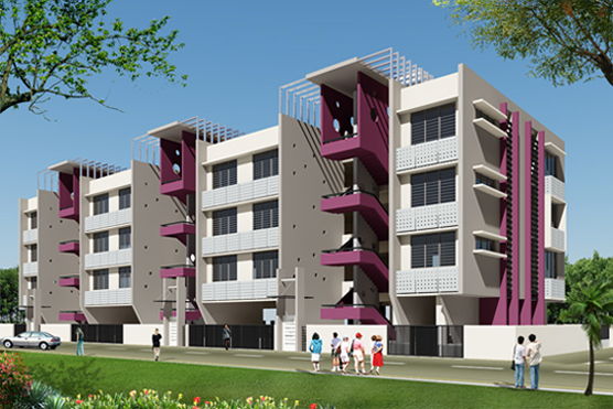 Sai Ganesh Park - 2 BHK luxurious terrace flats at Wadala Nashik